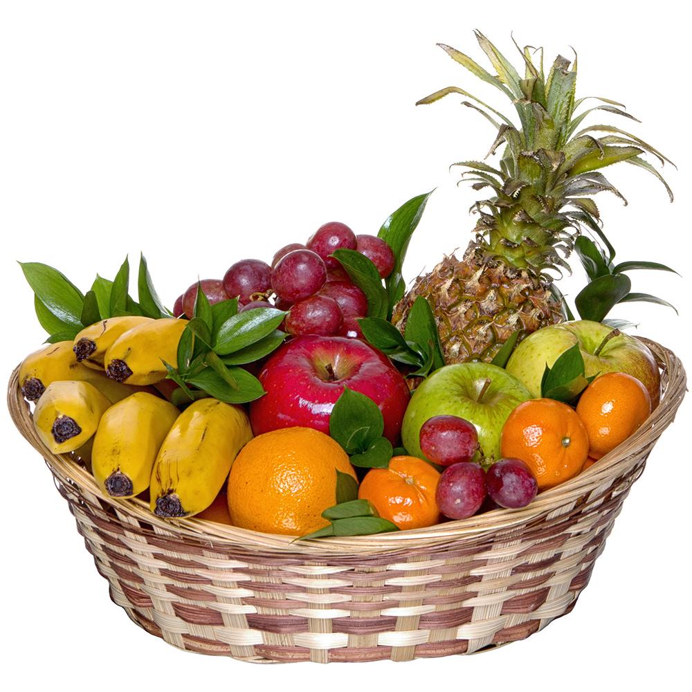 Подарок «Корзина фруктов» – купить с доставкой по Севастополю